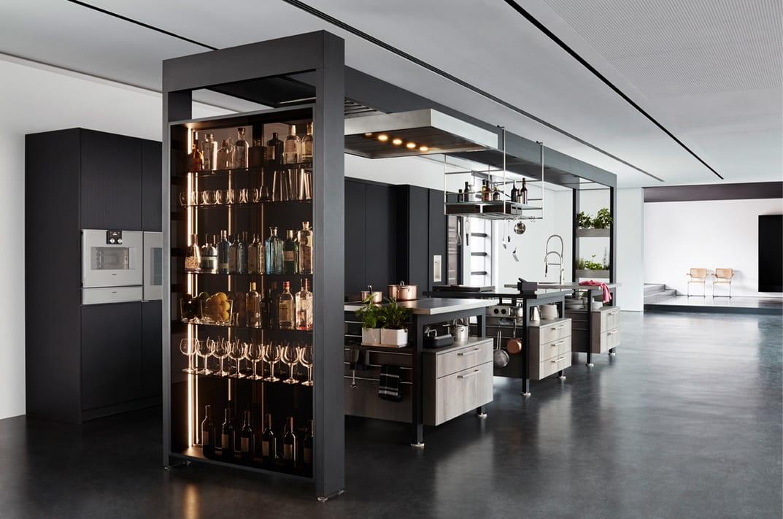 Luxury Modern Kitchens with Island in Hamilton by Silver Birch Interiors
